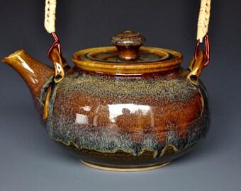 Stoneware Teapot Ceramic Teapot Pottery Teapot A