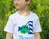 Teenage Mutant Ninja Turtle Birthday Shirt, custom TMNT shirt