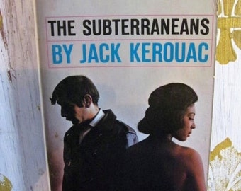 Subterraneans Jack Kerouac 1966 First Zebra Edition  Paperback Fifites Beat Author On The Road