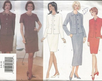Butterick 5196 Misses Dress and Jacket Pattern SZ 6-10  CLEARANCE ITEM