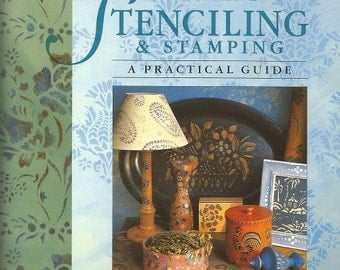 """Annie Sloan """"Decorative Stenciling and Stamping"""" Book"""