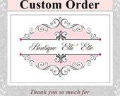Custom Listing for Christy