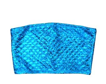 Blue Mermaid Tube Top