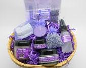 Custom Lavender Basket