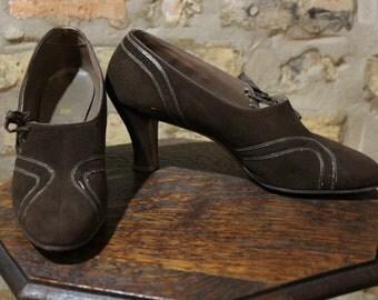 1940s Heels // Debonnaire Heels // vintage 40s shoes