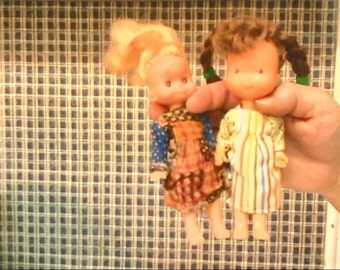 two holly hobbie dolls