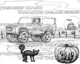 Skeleton Truck