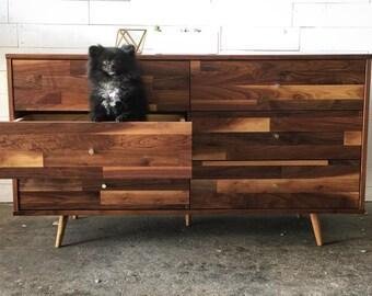 6 Drawer Mid Century Dresser
