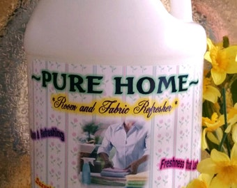 Earth-friendly Clothing,Fabric,Rug,Linen and Room Refresher~Fantastic on Linens and bedding~Gallon Jug Size~Pick your scent