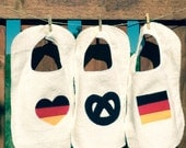 German theme baby and toddler bibs