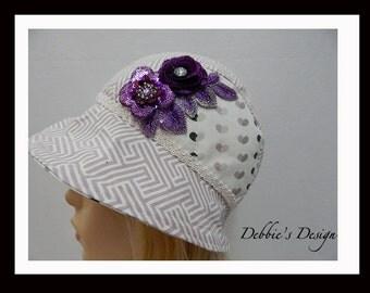 Women's Handmade Cloche Hat-12 Women's Handmade Cloche Hat,  Handmade, Womens, Cloche, Womens Hats, Lightweight, Accessories, Hats, Folk