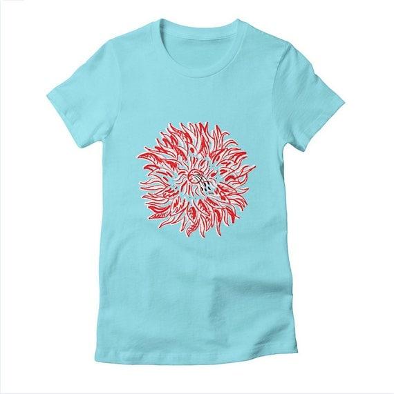 PLANT LYFE - Womens / Girls - T-shirt / Tee - Cancun - Flower - Fauna - Plants - Womens Apparel
