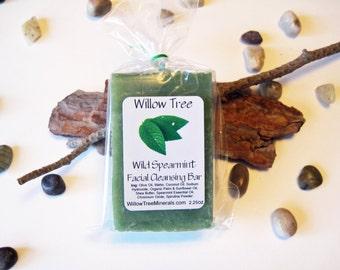 Wild Spearmint - Natural Facial Cleansing Bar