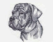 Cane Corso Tea Towel | Personalized Kitchen Towel | Embroidered Kitchen Towel | Embroidered Towel | Custom Hand Towel | Dog Lover Gift