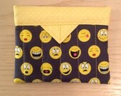 Text Me Quilted Fabric Mini Snap Bag Purse Pouch