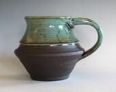 Unique Coffee Mug, 20 oz, LARGE Mug, , handthrown ceramic mug, stoneware pottery mug, ceramics and pottery, pottery mug