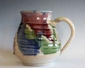 LARGE Mug, 25 oz, unique coffee mug, handmade cup, handthrown mug, stoneware mug, wheel thrown pottery mug, ceramics Sold Out