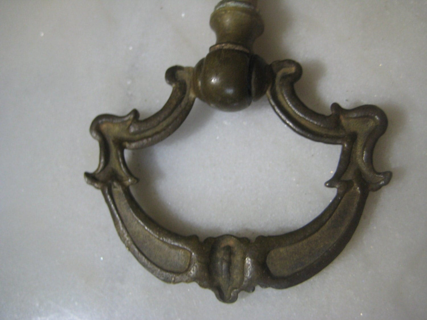 Antique Drawer Pull Drop Ring Fitting 1920 39 S Classic