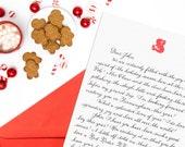 Santa Letter Non-Religious Sentiment