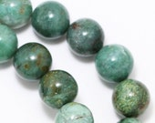 "MOVING SALE African ""Jade"" Beads - 10mm Round - Full Strand"