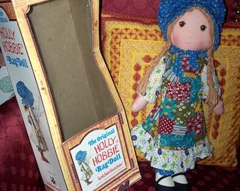 "Vintage Holly Hollie Hobbie Hobby  Rag Doll 16"" Tall Mint In Box MIB"