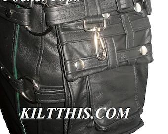 Add Leather Cargo Pockets