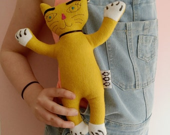 Child toy/plush - Kitt the Cat
