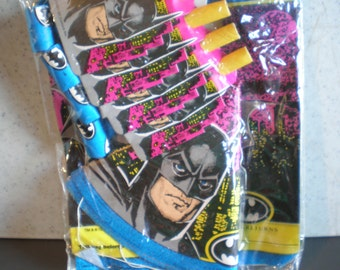 Vintage Unused 1990's  Batman Returns - Birthday Party Accessory Pack