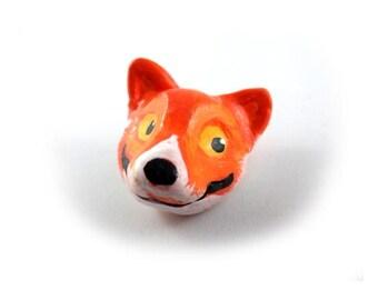 Fox - Wearable Art Pin