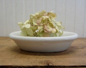"Vintage Ironstone China 6"" Small Oval Bowl Soap Dish"
