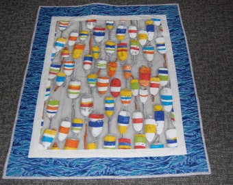 Wall Hanging, Lap Quilt, Baby Quilt, Hand Quilted