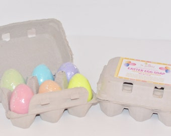 Egg Carton Triple Butter Glycerin Soap