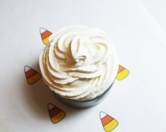 Candy Corn Whipped Soap - Scented Soap - Homemade Soap - Vegan Soap - Glycerin Soap - Cream Soap