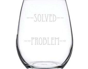 Stemless White Wine Glass-17 oz.-7853 Solved Problem