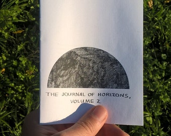The Journal of Horizons (vol. 2) - ARCHITECTURE LANDSCAPE ZINE