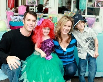 Mermaid Party Tutu by Atutudes - As seen in OK Magazine and designed for Hollywood Hot Moms For Trista Sutter's daughter Blakesley