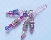 Princess Colors Crystal Cell Phone/Tablet Charm