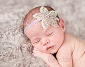 Vintage headband, Baby headband, newborn headband, trim headband, adult headband, and photo prop amazing rhinestone flower headband