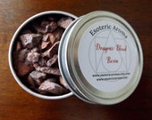 Dragons blood resin - resin incense, protection resin, magic, natural resin, witchcraft, spellwork, power magic, wiccan, pagan, occult