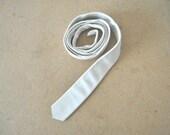 Vintage Skinny Leather Necktie | Gift Idea | Unisex