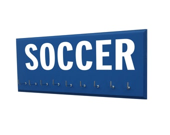 soccer : soccer medals holder, Soccer gift, gift for soccer player, soccer mom, soccer gifts, gifts for coach, soccer mom