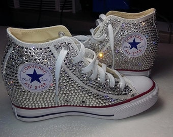Custom Chuck Taylor Converse Wedge Shoes