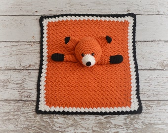 Fox Lovey, Fox Blanket, Security Blanket, Blankie, Blankey, READY TO SHIP