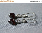 CLEARANCE figuratively garnet earrings