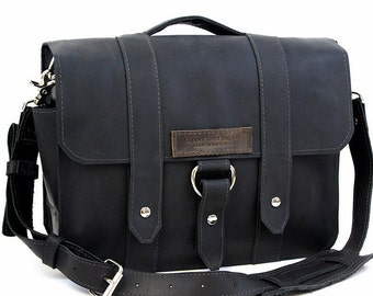 "14"" Black Newtown Journeyman Laptop Bag - 14-J-BL-LAP"
