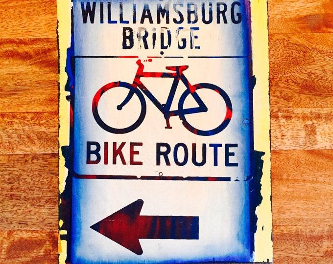 Williamsburg Bridge Bike Route