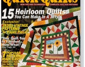 McCalls Quick Quilts Magazine #22 Heirloom Quilts, vintage patterns