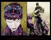 Flapper Headband,Art Deco Headband,1920s Headpiece,Edwardian Headpiece,Downton Abbey,Formal Headpiece,Bridal Headband,Hair Jewel