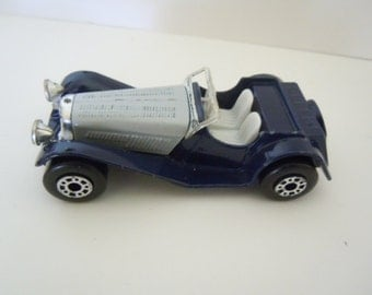 Matchbox Jaguar SS 100 Sports Car Collectible 1982
