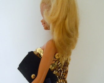 Vintage Barbie Evening Dress 1970s Barbie